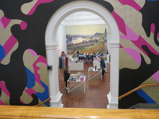 Framing The Entrance Towards The Exhibition Colours Of