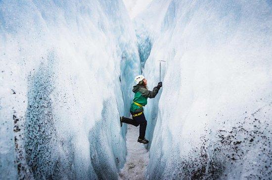 Skaftafell国立公園からの小グループVatnajokull氷河ハイキ…