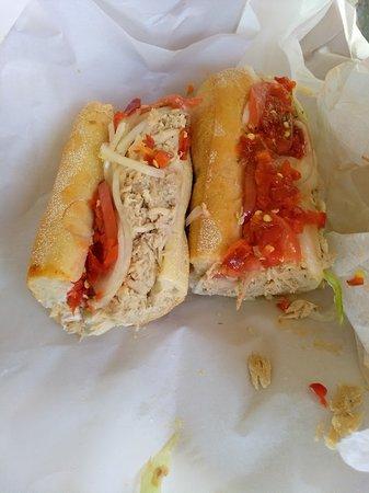 White House Sub Shop: Turkey or tuna??? Both fantastic