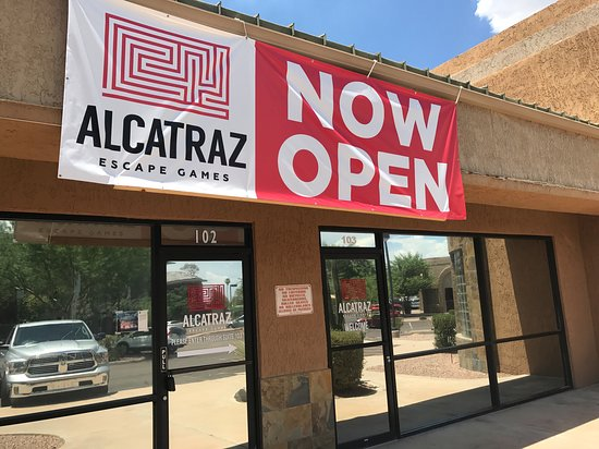 Alcatraz Escape Games in Tempe is NOW OPEN