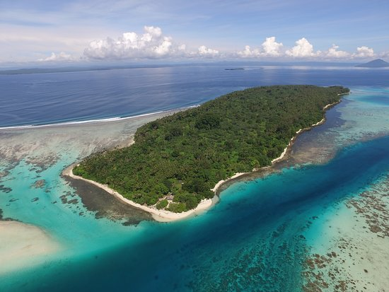 Rabaul Dive Adventures: Kabakon island that we can visit