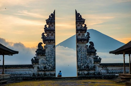 Gate of Heaven (A View of Mt Agung...