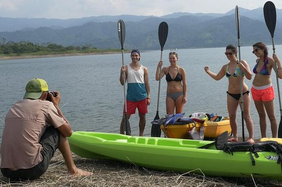 Kayak del lago Arenal