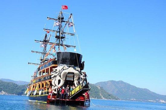 デイビージョーンズマルマリス海賊団クルーズパーティーボートトリップ