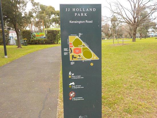 Муни-Вэлли, Австралия: Park Map