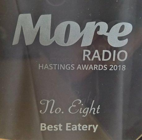 No. EIGHT Restaurant: AWARD WINNING