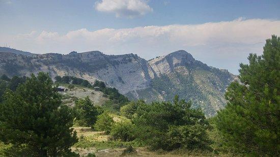 Mount Ipsárion: july 2018