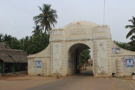 Nagapattinam, Inde : Landsporten - Danish Quarters, Tranquebar
