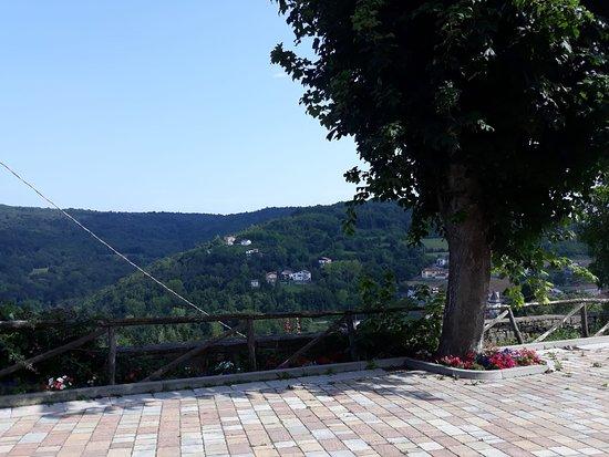 Prunetto, Ιταλία: Vista dalla locanda