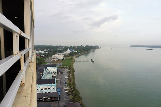 Muar Traders Hotel: View from Room