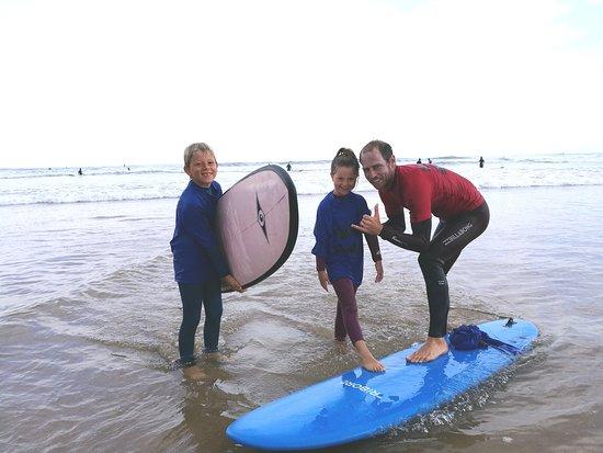 Experience Surf School (Manu Portet): avec Manu! trop bien!