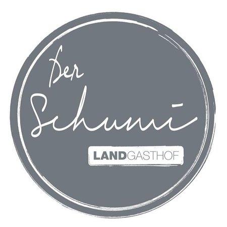Sankt Georgen am Längsee, Austria: Der Schumi. Landgasthof. - erstrahlt langsam aber sicher im neuen Licht. Hier unser neues Logo :