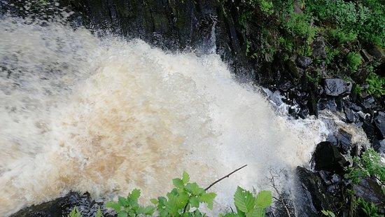 Pitkyaranta, Rosja: Второй водопад
