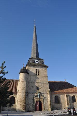 Église Saint-Jean-Baptiste: From a cafe oppostie