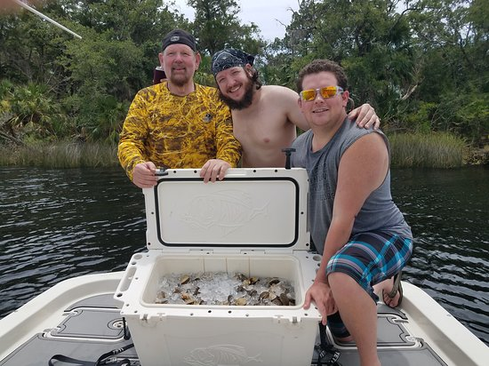 Steinhatchee, FL: Scallopin Heaven!