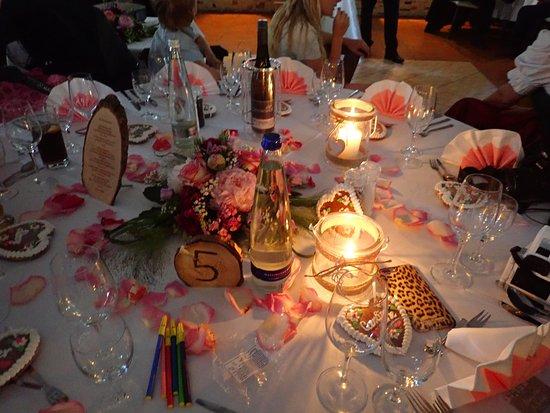 Pullach im Isartal, Germany: Hochzeit Tischdeko