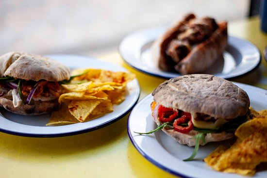 Some of our pizza sandwiches. Perfect for lunchtime or a lighter bite!