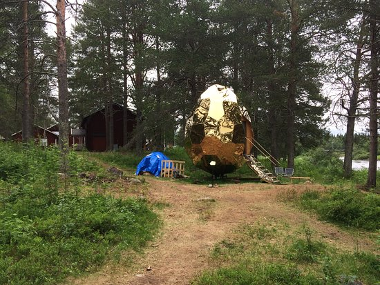 Gallivare, Sweden: Near Gällivare camping you can find the outdoor museum of Gällivare.