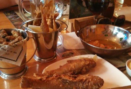 Блюда - Picture of Barabulya Bar, Alushta - Tripadvisor