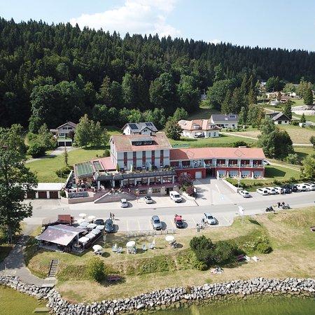 Le Sentier, Suíça: Bellevue le Rocheray Hôtel-rest.