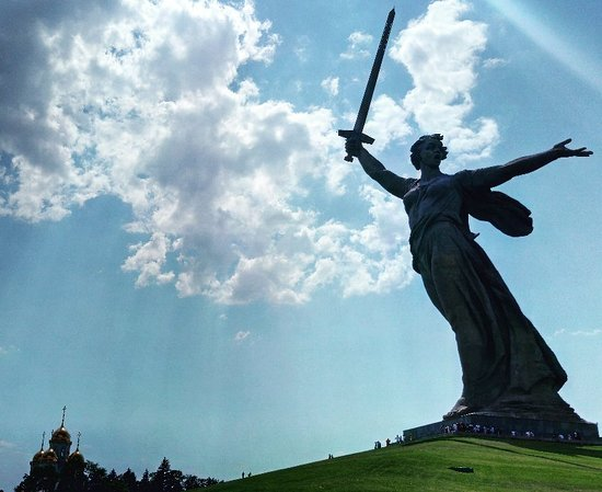 The Motherland Calls Sculpture