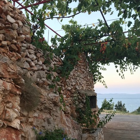 Ivan Dolac, Croatia: Surrounded by vines & wines
