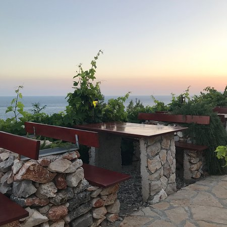 Ivan Dolac, Croatia: Best seat in the house