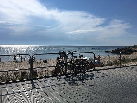 Baltic Coast, Polen: bici