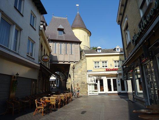 Rijksmonument Middeleeuwse Grendelpoort Valkenburg