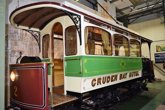 Grampian Transport Museum. Alford. Aberdeenshire