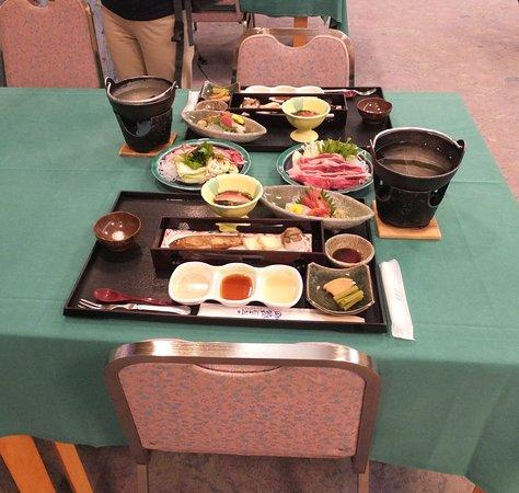 Hotel Yutoria Fujisato: 夕食