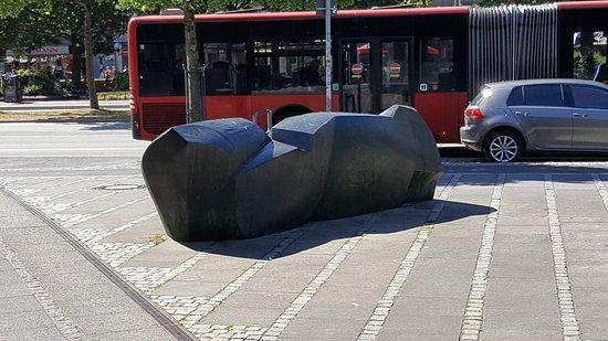 """Skulptur """"Küste"""""""