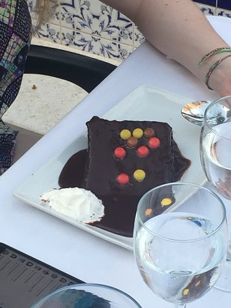 Villamartin, Spain: Chocolate cake
