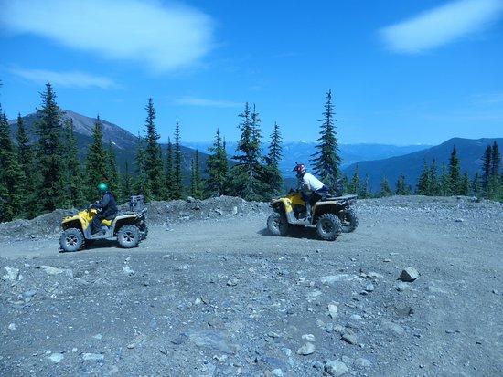 Panorama, Canada: Lead quads