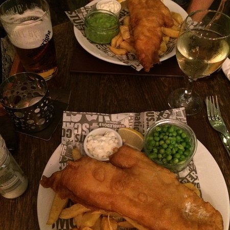 Youlgreave, UK: Great fish and chips