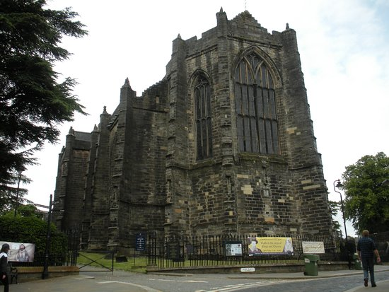 Church of the Holy Rude: Dramatic building. Front Entrance