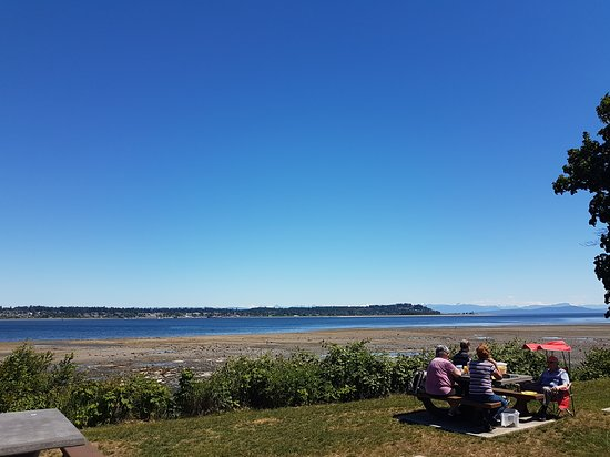 Royston, Kanada: Beautiful Seaside picnic area