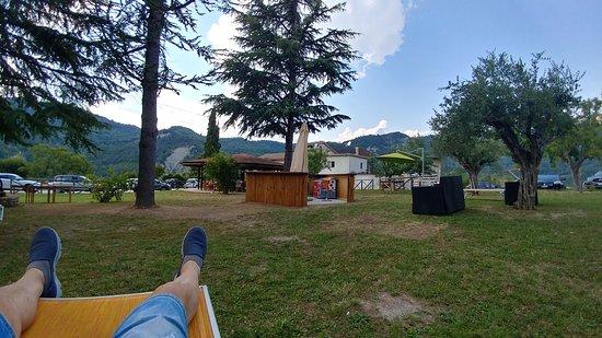 Valle Castellana, Italy: Relax dopo pranzo... ;-)