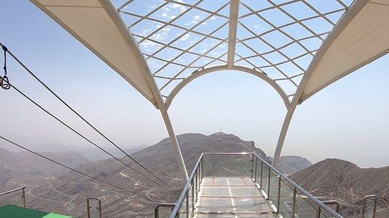 Emirate of Ras Al Khaimah, United Arab Emirates: Ausblick von der Startplattform