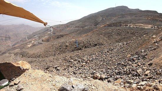 Emiraat Ras al-Khaimah, Verenigde Arabische Emiraten: Ausblick vom Zielpunkt