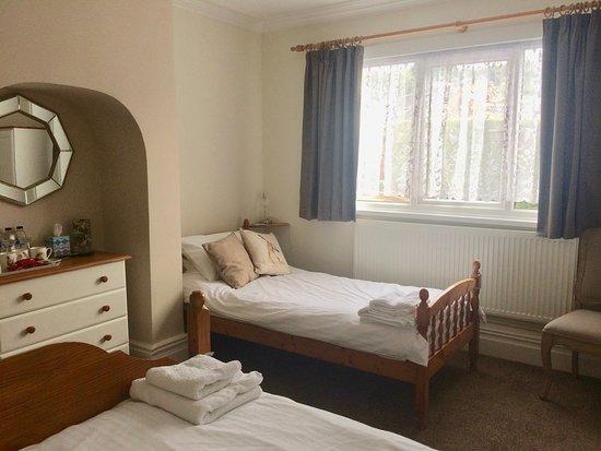 Oakamoor, UK: Triple room, lovely and spacious.