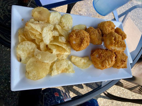 Island Pond, VT: the fried scallops -