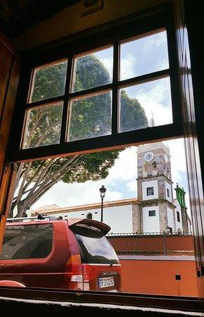 Tejina, España: Vista desde la ventana