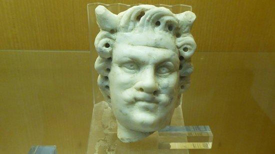 Museo Civico Archeologico: Marble satyr.