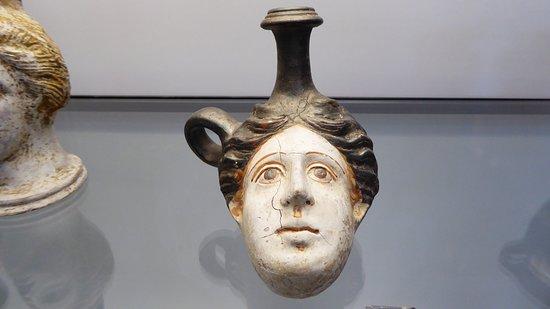 Museo Civico Archeologico: Drinking vessel.
