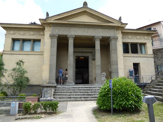 Museo Civico Archeologico: The front of the museum