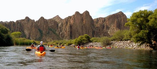 Saguaro Lake Guest Ranch Kayaking & Tubing