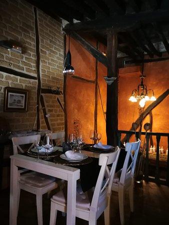 Saldana, إسبانيا: Comedor en la planta de arriba1.