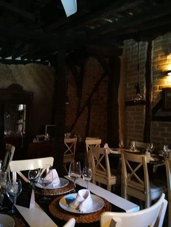 Saldana, إسبانيا: Comedor en la planta de arriba2