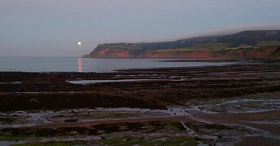 North Yorkshire, UK: Moonlight over Robin Hood's Bay. The perfect end to an amazing journey!